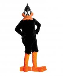 Strój chodzącej maskotki - Kaczor Daffy Collector Edition