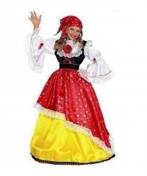 Kostium teatralny dla dziecka - Cygańska Królewna