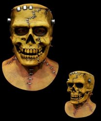 Maska lateksowa - Frankenstein Skull