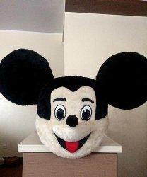 Głowa chodzącej maskotki - Myszka