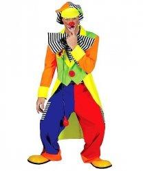 Profesjonalny strój dla klauna - Klaun Kwiatuszek