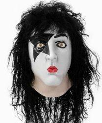 Maska lateksowa z peruką - Kiss Starchild