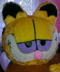 Głowa chodzącej maskotki - Kot 2