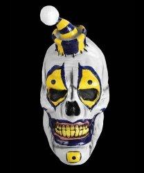 Maska lateksowa - Horror Klaun Skull