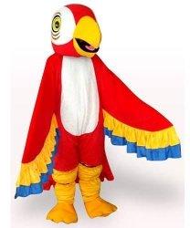 Strój reklamowy - Papuga czerwona