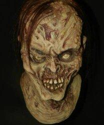 Maska lateksowa - Zombie Deluxe
