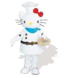 Strój reklamowy - Hello Kitty Kucharzem
