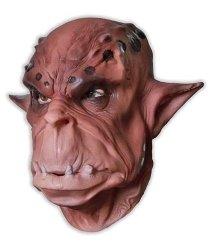 Maska lateksowa - Brown Ork