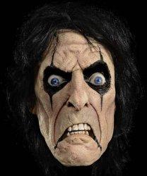 Maska lateksowa z peruką - Alice Cooper