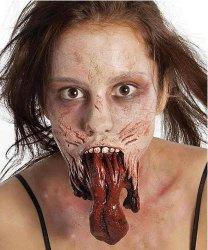 Sztuczna rana - The Walking Dead Język Zombie