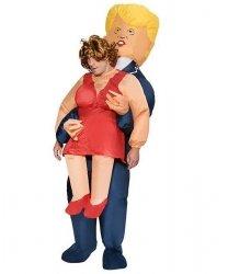 Pneumatyczny Kostium Carry Me - Trump