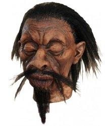 Dekoracja na Halloween Miniaturowa głowa Tsantsa Eduardo