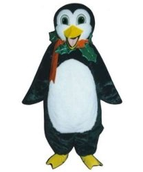 Strój reklamowy - Świąteczny Pingwinek 2