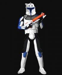 Kostium z filmu - Star Wars Clone Trooper Rex