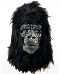 Maska lateksowa - Goryl Deluxe