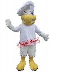 Strój chodzącej maskotki - Kurczak Szef kuchni