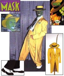 Kostium - Jim Carrey z filmu Maska (The Mask)