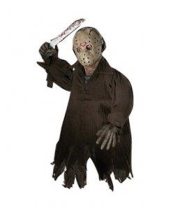 Dekoracja na Halloween - Lalka do zawieszenia Jason Voorhees