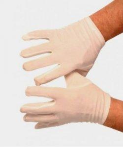 Rękawiczki - Teatralne Białe