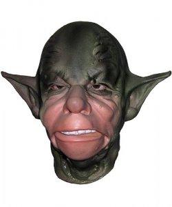 Maska lateksowa - Intergalaktyczny Mistrz