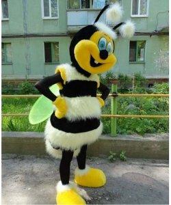 Strój chodzącej maskotki - Pszczoła Deluxe
