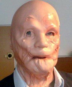Maska lateksowa - Klektak