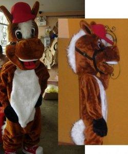 Chodząca maskotka - Koń Luzak