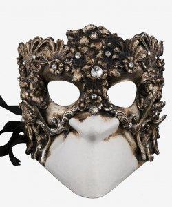Maska wenecka - Diamond Bauta