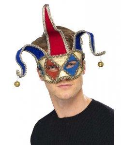 Maska w stylu weneckim - Błazen