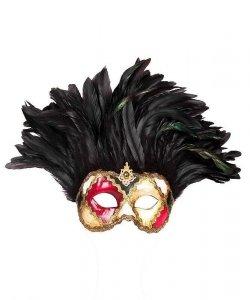 Maska wenecka - Colombina Incas Sacchi