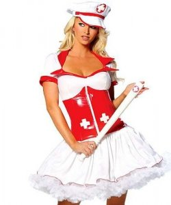 Seksowny kostium - Sanitariuszka Lola