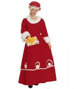 Kostium świąteczny - Pani Mikołajowa
