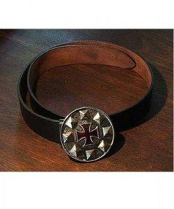 Pas skórzany z klamrą - Krzyżowiec