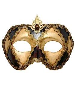 Maska wenecka - Colombina Scacchi