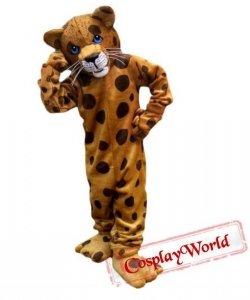 Strój chodzącej maskotki - Leopard