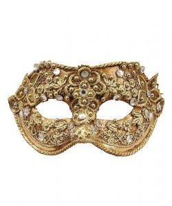 Maska wenecka - Colombina Macrame V