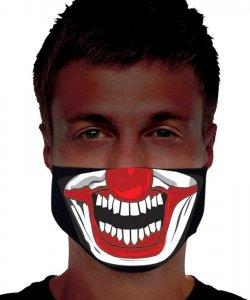 Maska zakrywająca usta i nos - Korona Clovn I