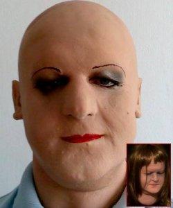 Maska lateksowa - Poleta