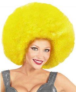 Peruka Afro - XXL Yellow