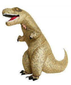 Nadmuchiwany kostium - Dinozaur