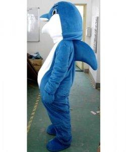 Strój reklamowy - Delfin Błękitek