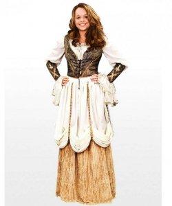 Kostium teatralny - Dziewczyna z tawerny