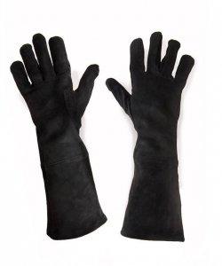 Rękawice - Zamsz Czerń