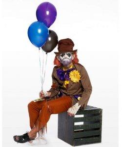 Profesjonalny strój klauna - Wypalony Klaun