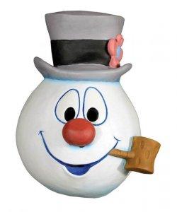 Maska lateksowa - Bałwan z filmu Frosty the Snowman