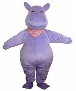 Chodząca maskotka - Hipopotam