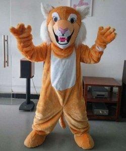 Strój chodzącej maskotki - Tygryso