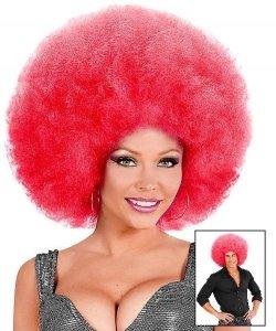 Peruka Afro - XXL Pink