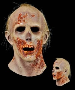 Maska lateksowa - The Walking Dead Zombie IX