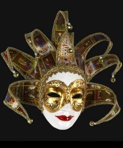 Maska wenecka - Volto Dama Tarot